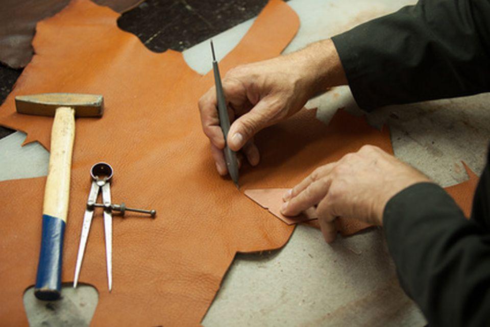 Anfertigung von Lederwaren