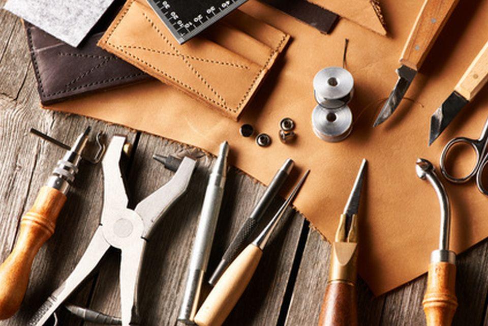 Herstellung von Lederwaren